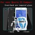 Новый закаленное стекло для Sony Xperia Z3 компактный протектор спереди назад взрыв - пленка для Xperia Z3 D5803 D5833