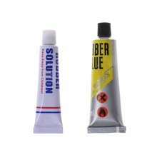 Bicycle Tire Repair Glue 5ml/12ml Portable Mountain Bike Cement Rubber Solution(China)