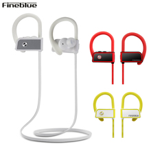 Fineblue FA80 Wireless Bluetooth earphone Stereo Music Earphone Handsfree With Mic Neckband waterproof IPX-5 Sports UM