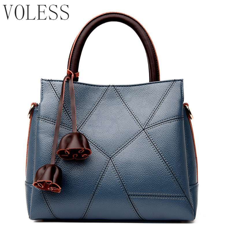 Fashion Geometric Casual Tote Bags Pu Leather Luxury Handbags Women Bag Designer Famous Brands Big Capacity Crossbody Bags SAC 2017 women bag luxury brand handbags women crossbody bags designer pu leather casual tote bag ladies messenger bags fashion sac