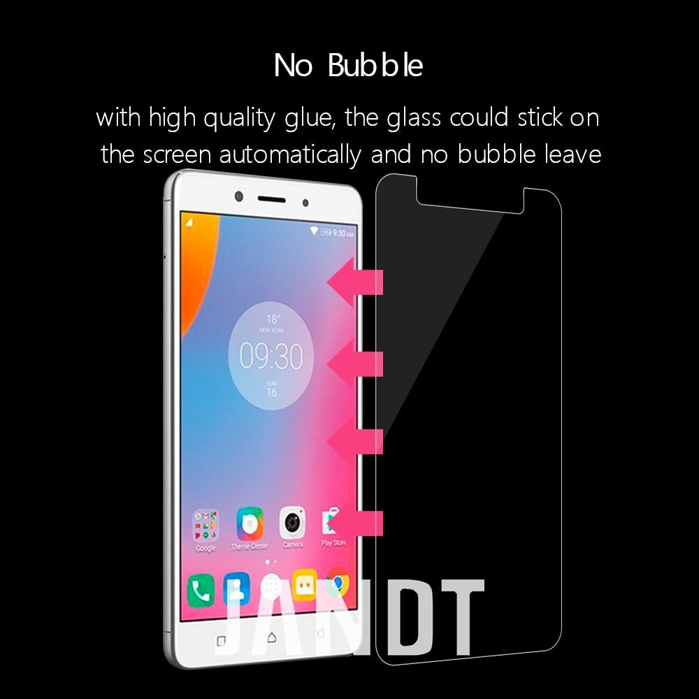 Для LENOVO K6 Примечание защита экрана закаленное стекло Корпус дружественных пузырьков аксессуары