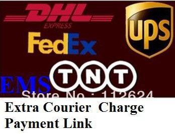Extra courier charges payment link