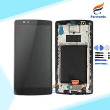 Für lg g4 h810 h815 vs999 h818 lcd display mit Touch Digitizer Frame Assembly Single & Dual-sim-karte 1 stück Kostenloser Versand