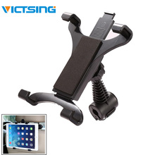 купить 360 Degree Rotatable Adjustable Car Backrest Headrest Mount Holder For iPad Tablet Phone Stand Holder Car Mount Holder Back Seat по цене 469.8 рублей