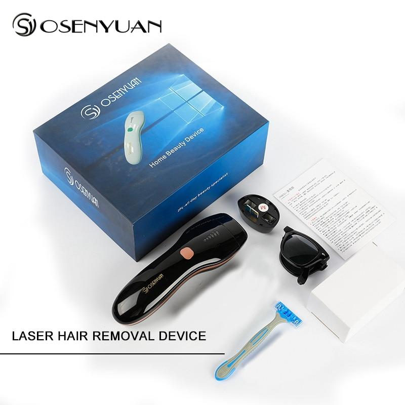 4in1 IPL Epilator Permanent Laser Hair Removal LED Display 1350000Pulses depilador a laser Bikini Trimmer Photoepilator gift in Epilators from Home Appliances