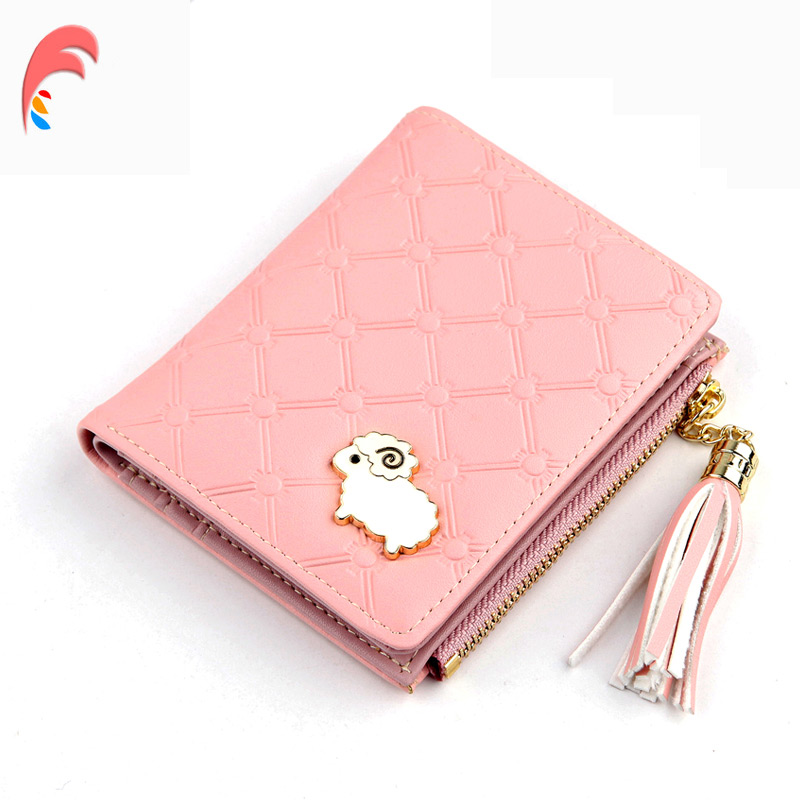 70517d4511ee US $4.54 50% OFF|Carrken Wallet Female For Coins Cute Wallet Women Long  Leather Women Wallet Zipper Card Holder Purses Wallet Female Purse  Clutch-in ...