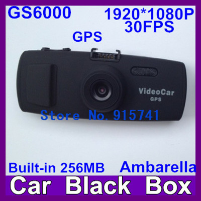 2013 Newest GS6000 Ambarella 1920*1080 30FPS Car Video Recorder DVR CDV-007  Night Vision+5.0 MP Cmos Sensor+Free Shipping