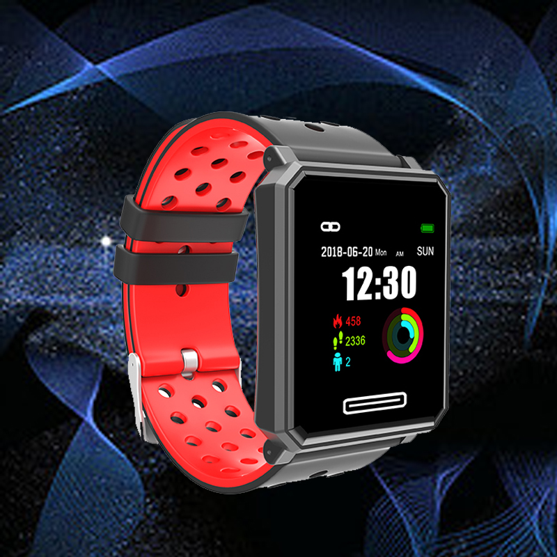 Smartwatch A30 Smart Watches OLED Screen Blood Pressure Heart Rate Tracker IP68 Waterproof Activity Tracker Smart Watch for Men 0 96 smartwatch s9 2 5d oled screen gorilla glass blood oxygen blood pressure brim ip68 waterproof activity tracker smart watch