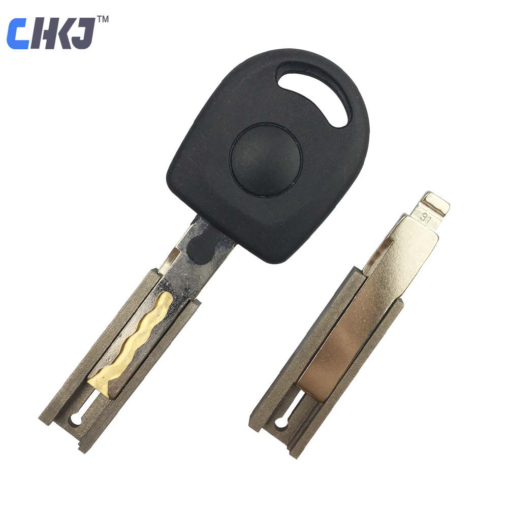 CHKJ 2pcs/lot HU66 Duplicating Fixture Clamp For VW Volkswagen Key Blank Key Cutting Machine Accessories Key Cutter Machine Part