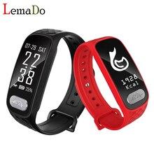 Lemado B20 Спорт Смарт запястье браслет Heart Rate Мониторы IP67 Водонепроницаемый Bluetooth smartband для iPhone Android