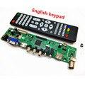 V56 Atualização V59 Universal TV LCD Placa de Driver de Controlador de PC/VGA/HDMI/Interface USB