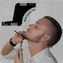 Hot Selling Comb Beard Shaping Tool Sex Man Gentleman Beard Trimmer Template Hair Cut Hair Molding Beard H0041