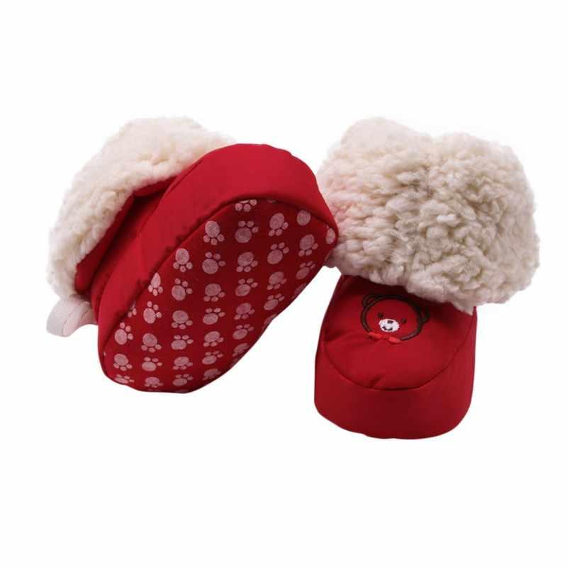 เด็กฤดูหนาวน่ารักรองเท้าอุ่นรองเท้าเด็กรองเท้าเด็กทารกแรกเกิดใหม่
