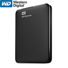 WD Elements Portable External Hard Drive Disk HD 1TB 2TB High capacity SATA USB 3.0 Storage Device Original for Computer Laptop