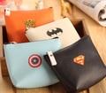 4pcs/lot Hot sale! Super Heros Mini coin purse key wallet fashion PU purse