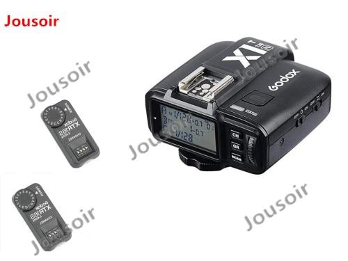 Godox 2x XTR-16S Wireless 2.4G Power Control Flash Receivers + X1T-N Wireless Transmitter For N V850 V860C V860N Flash  CD50Godox 2x XTR-16S Wireless 2.4G Power Control Flash Receivers + X1T-N Wireless Transmitter For N V850 V860C V860N Flash  CD50