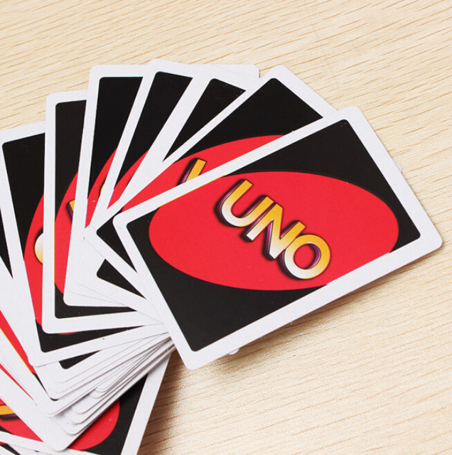 2015 Hot Sale Uno Card Game Playing Card Family Friend Travel