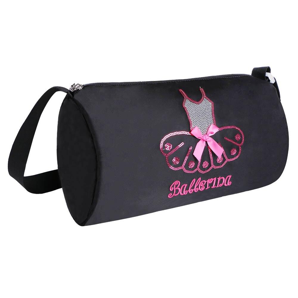 2017 Nylon Outdoor Female Sport Bag Professional Women Fitness Shoulder Gym Bag Hot Training Female Ballet Duffel Bag