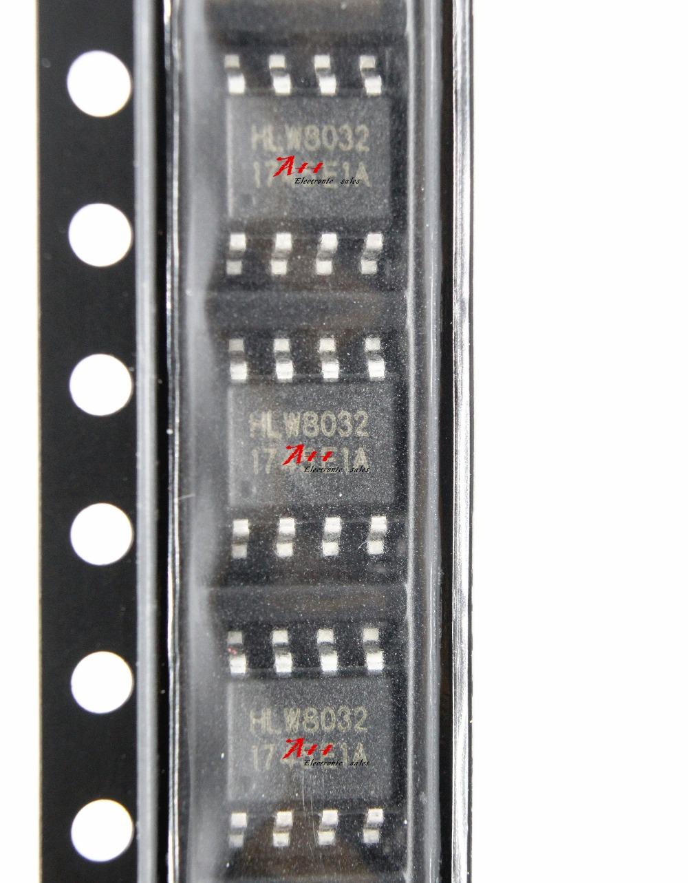 Free shipping,Single phase multifunction power metering chip 100PCS HLW8032 SOP 8-in Integrated Circuits from Electronic Components & Supplies