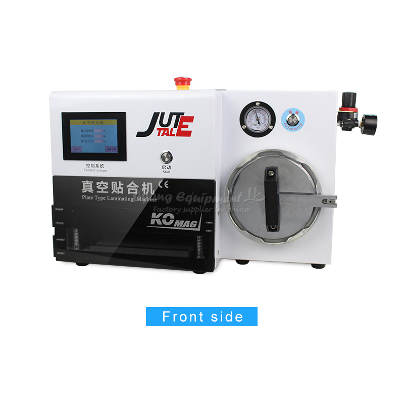RU no tax LY KO-MAX plate type OCA laminating machine 7 inches 220V 110V