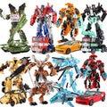 С Пакет 8 стилей Трансформация Робот Автомобилей и премьер Игрушки Фигурки Классические Игрушки Для Детей Рождественские Подарки