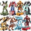 Com o Pacote de 8 estilos de Carros e prime Brinquedos Transformação Robô Figuras de Ação Brinquedos Clássico Para Crianças Presentes de Natal