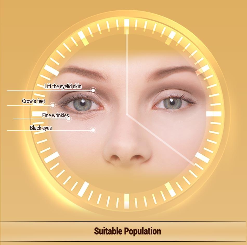 BIOAQUA Brand water embellish Crystal eye Mask nourish moisture fade fine lines dark circles eye care eye patch 1