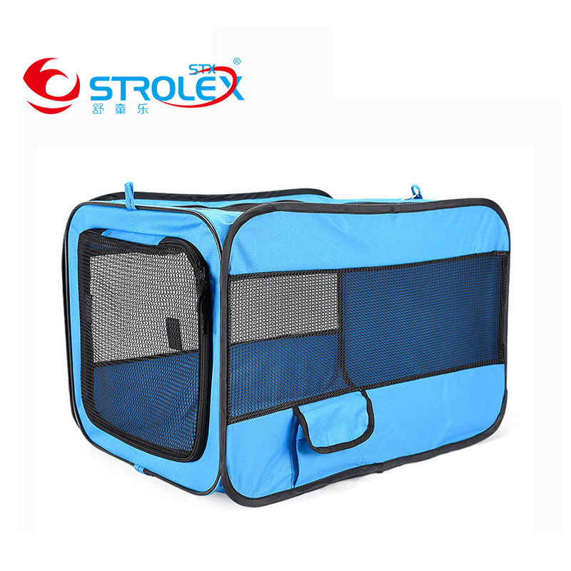 Extensible Pet Carrier Folding Soft Panel Box Airlines Approved Dog Cottage Travel Bag Multi Function Pet Carrier Oxford Cloth