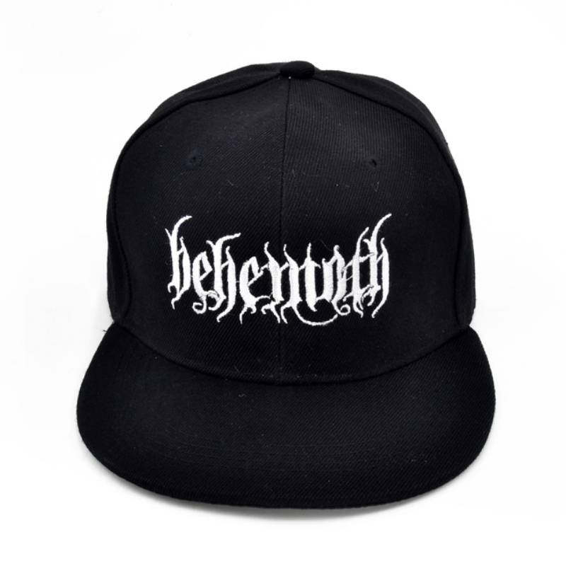 Behemoth Death Punk Rock Men's embroidery   Baseball     cap   Poland's famous black metal band   cap