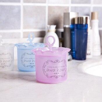 Super useful Beauty facial cleanser foam cup cleansing milk foaming cleanser foam cup whipped bottle unisex foam tool device multi action foam cleanser purifying mask