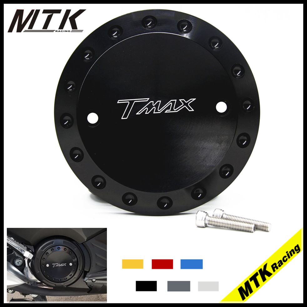 MTKRACING Motorcycle For Yamaha tmax 530 2012-2015 TMAX 500 2008-2011 CNC Engine Protective Cover TMAX Engine Stator Cover