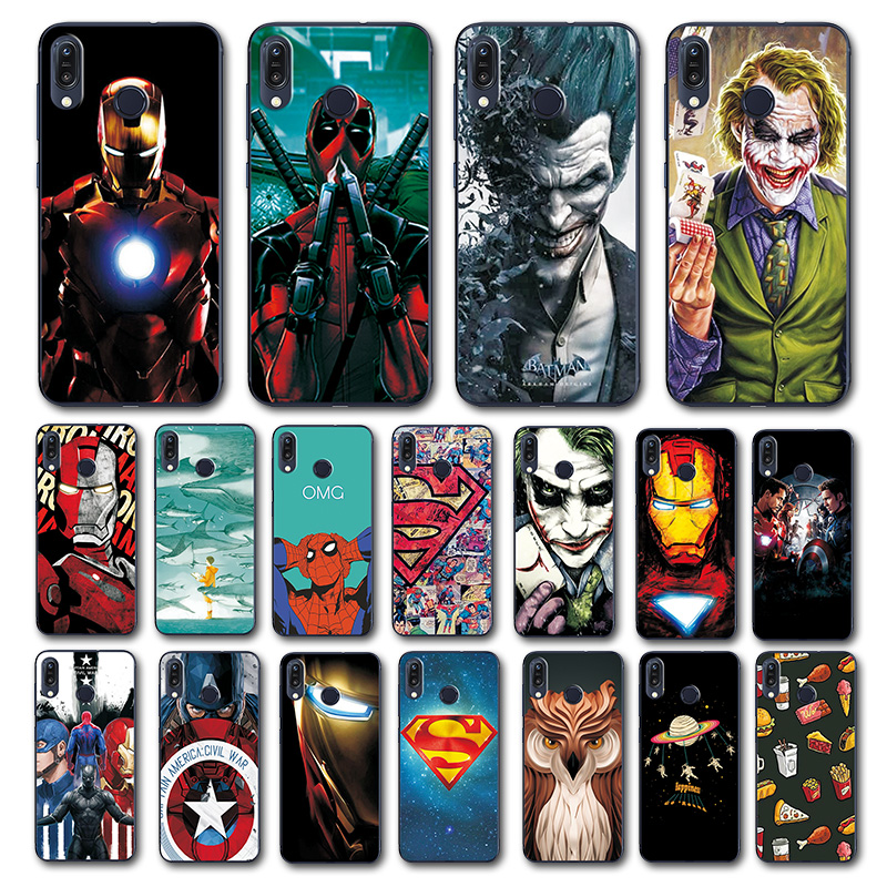 Newest Art Printed Case For Asus Zenfone Max M1 ZB555KL Novelty Super Phone Case Zenfone ZB555KL Back Cover For Asus ZB555KL 5.5-in Fitted Cases from Cellphones & Telecommunications