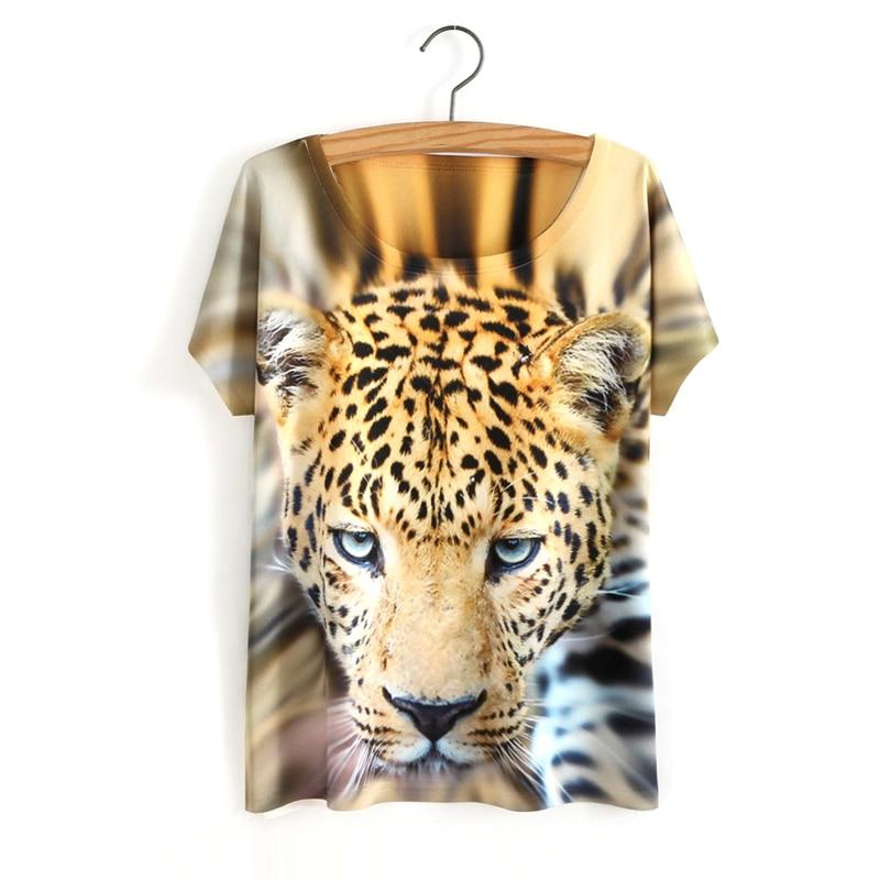 HTB1pHq5OVXXXXcxXVXXq6xXFXXXY - White Tiger 3D Print T-Shirt Women Summer Clothes