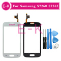 Original For Samsung Star Pro S7262 7262 GT-S7262 S7260 7260 GT-S7260 Touch Screen Digitizer Black/White
