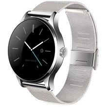 เดิมk88h smart watch mtk2502บลูทูธs mart w atch h eart rate monitorอุปกรณ์สวมใส่กันน้ำนาฬิกาข้อมือสำหรับios a ndroid