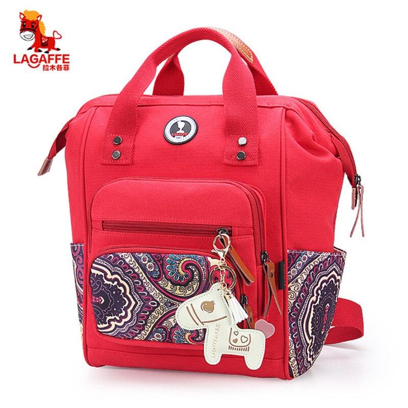 Lagaffe коляска детские пеленки сумка-Органайзер рюкзак Материнство сумка для мамы мать мумия бутылка сумка для хранения подгузник Wetbag