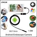JCWHCAM Endoskop 7mm 1 5 Mt 2 Mt 5 Mt 3 Mt Android Enoscope IP67 Wasserdichte Inspektion Endoskop Schlange Rohr kabel USB Endoskop Kamera|endoscope camera|usb endoscope camerausb endoscope -