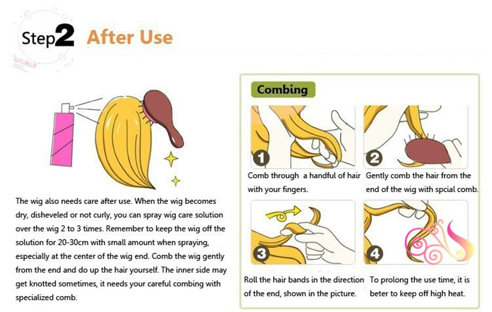 how to maintain wig 2step