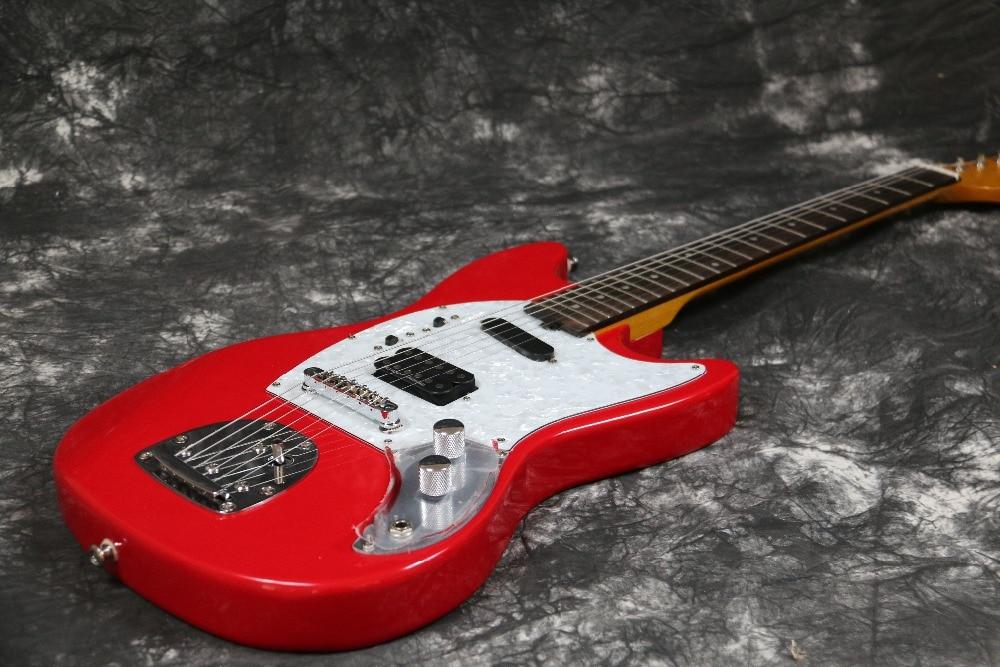 Instock Starshine Mustang E-Gitarre SR-LST-026 Vintage-Tuner mit rosa - Musikinstrumente - Foto 3