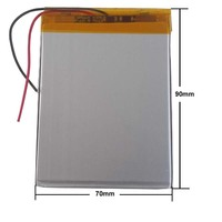 Litro de energia Tablet PC bateria geral da bateria 3.7 V bateria de lítio polímero 357090 357095 4000 mAh Chi para T7 Bateria e energia extra p/ tablet     -
