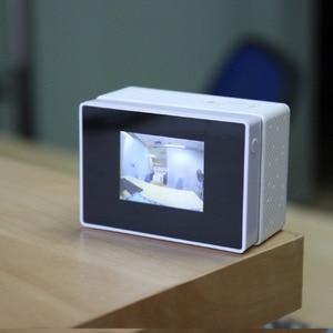 Image 5 - עבור מסך LCD Xiaoyi צג LCD לתצוגה + חיצוני תיק שיכון עמיד למים עבור מצלמה ספורט מקורי Xiaomi yi