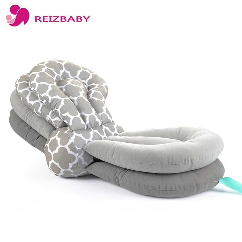 REIZBABY Baby Breastfeeding Pillow Multifunctional Cotton Adjustable Breastfeeding Nursing Pillow Newborn Baby Learn Sit Pillow цены