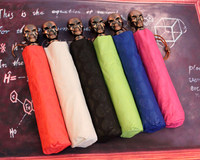 Offbeat Personality Skull Opaque Fully Automatic Sunshade Foldable Portable Sunscreen Rain Prevention Umbrella