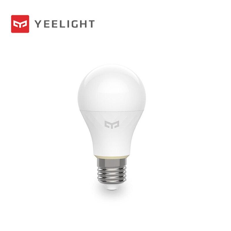 Xiao mi jia yeelight bluetooth сетчатая Версия смарт лампочка и светильник, прожектор работает с yeelight шлюз для mi home app-in Умный пульт управления from Бытовая электроника