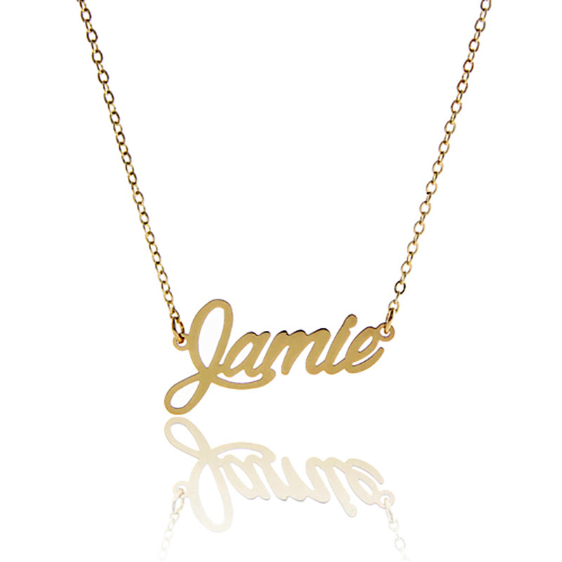 55a35b311 Jamie Name Necklace - #GolfClub