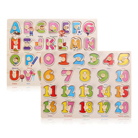 2015 The Learning Journey Lift And Learn ABC And 123 Puzzle
