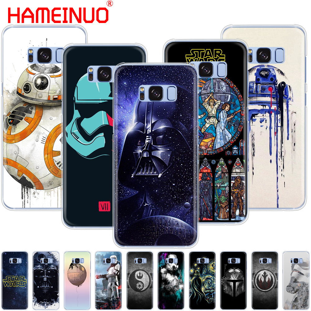 online retailer 5ffd9 7f9a3 US $1.93 34% OFF HAMEINUO star wars BB8 R2D2 darth vader soldier boba phone  case cover for Samsung Galaxy S9 S7 edge PLUS S8 S6 S5 S4 S3 MINI-in ...
