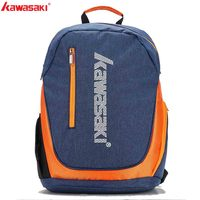 Kawasaki Brand Backpack Badminton Bags Two Pack Professional Racket Sports Fitness Bag for Men Women KBB 8202