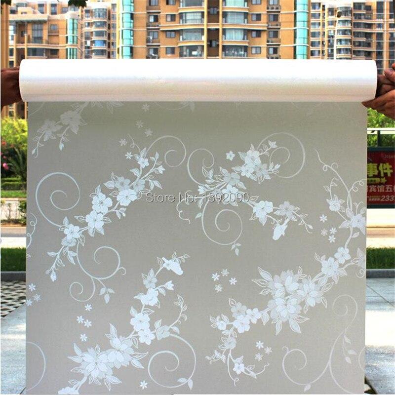 2017 45 см * 100 см матовый конфиденциальности стекло клейкой пленки тиснением окна стикер домашнего декора смешанные цвет туалет зеркало