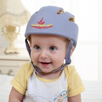 Baby Safety Helmet Toddler Headguard Hat Protective Infants Soft Cap Adjustable For Crawl Walking Running Outdoor